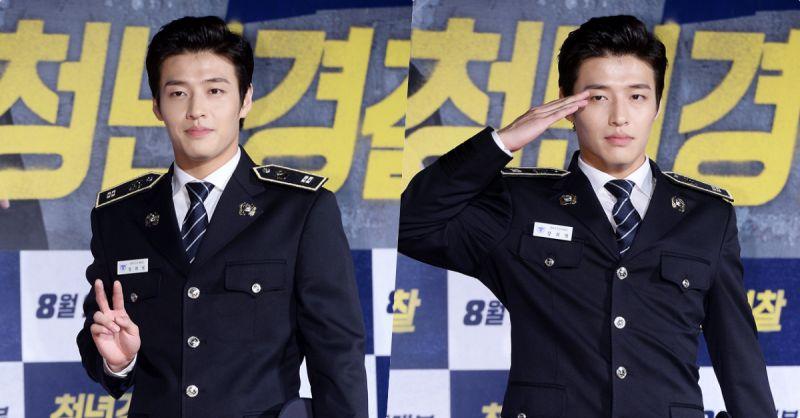 兵役期至!9月11日入伍的姜河那宣佈退出《壞傢伙們2》