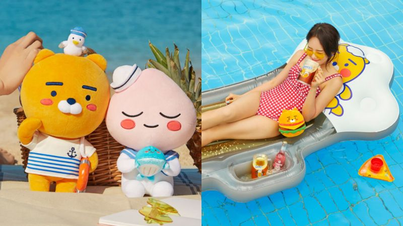 Kakao Friends夏日海軍系列上市!70多款承包你的盛夏~