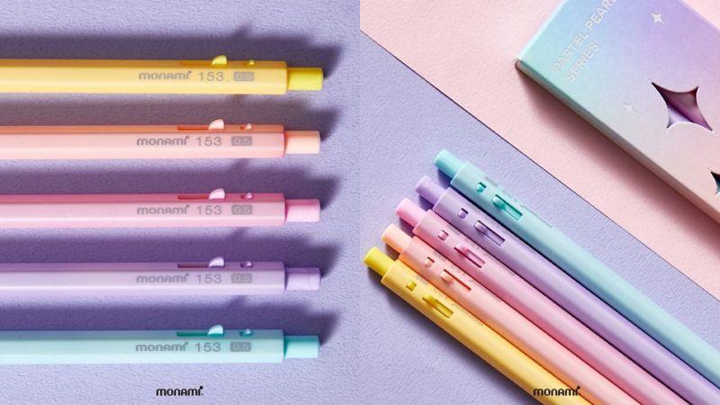 韩国文具monami一天售罄的爆款「马卡龙色笔」再次开售!