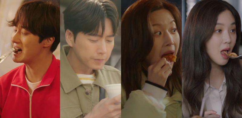 是美食、美女还是美男?4个让你看到流口水的韩剧场面,你真能忍得到吗?