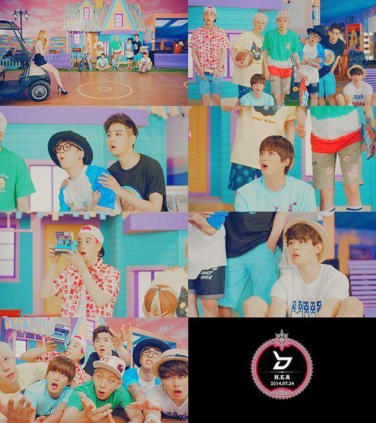 Block B公開《H.E.R》宣傳片 首次挑戰可愛風