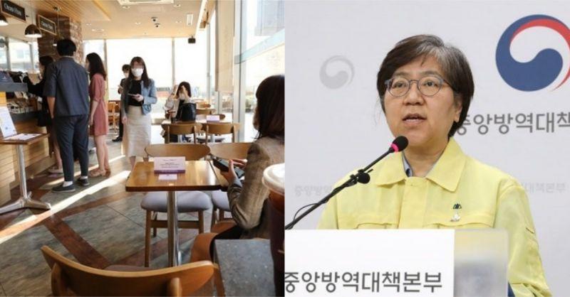 韓國防疫措施降回第二階段:餐廳、咖啡店恢復正常營運