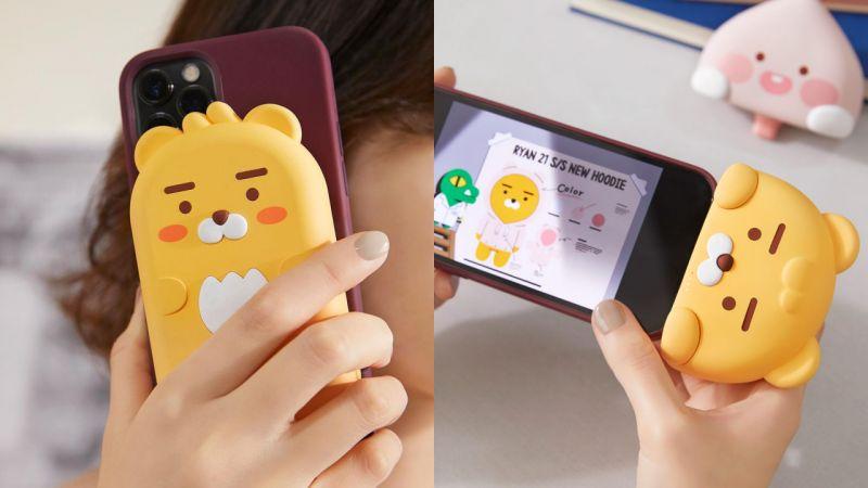 Kakao Friends推出2款Ryan行动电源,设计巧妙又可爱!