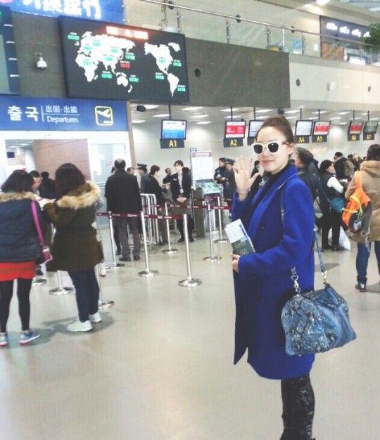 《女王之花》高佑麗為拍攝電視劇來台取景