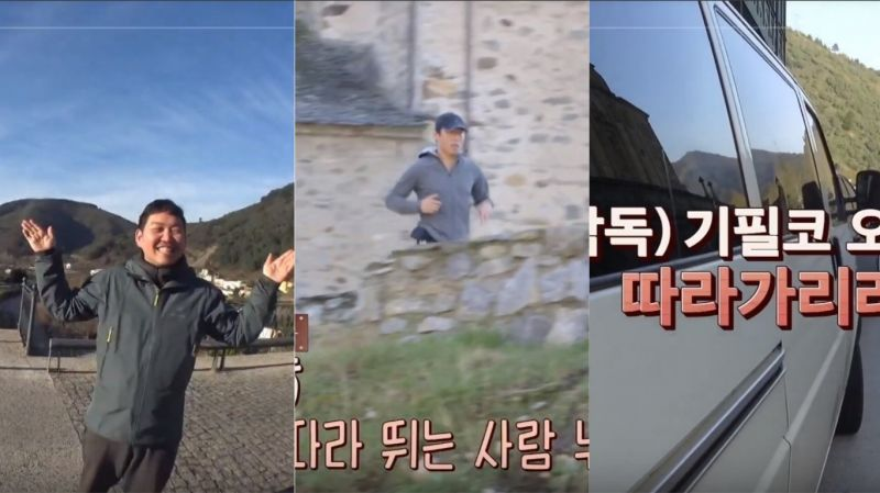 《西班牙寄宿》柳海真「好會跑」!用腳追不上他 節目組紛紛出動腳踏車、廂型車「跟拍」