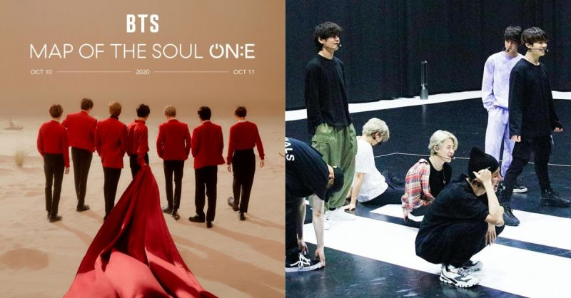 在家也能看!BTS防彈少年團10月演唱會連續兩天進行線上直播,還額外獻上3D幕後花絮!