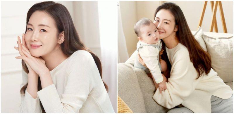 生完小孩5個月立即復工!46歲凍齡崔智友產後迅速恢復原樣代言廣告!