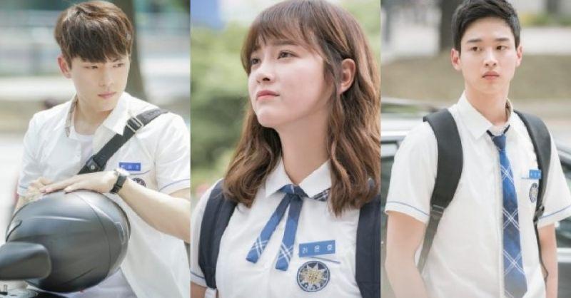 《学校2017》校服剧照公开 金世正&金正铉&张东尹扮相超青春!