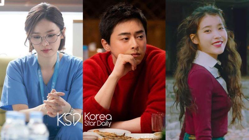 曹政奭与「旧爱」IU 和「新欢」田美都同时占据音乐平台 Melon TOP.3
