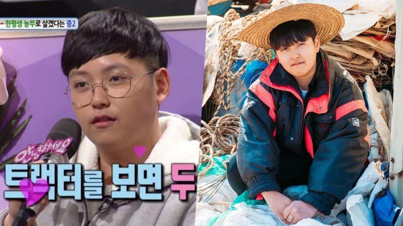 韓網爆紅16歲農夫!講話神態酷似老伯,還被無數人稱為「理想型」