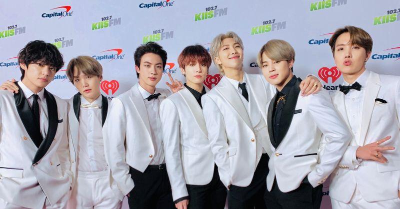 BTS防弹少年团风光一整年 打入告示牌两大年终结算榜!
