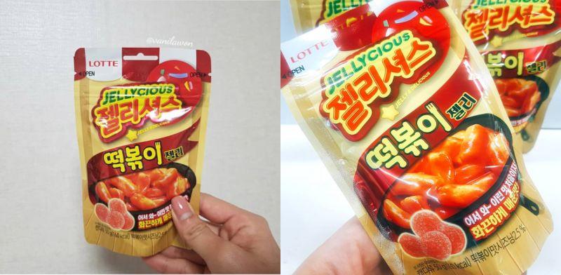 韓國7-11推出超奇怪新品-炒年糕軟糖,網友們都說是不能想像的味道!
