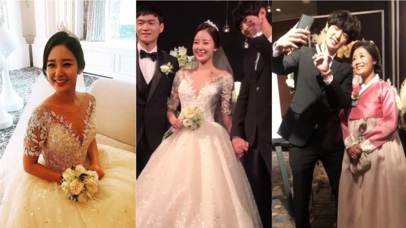 EXO燦烈的姐姐朴宥拉結婚了!姐弟倆緊緊握住彼此的手 弟弟還親自演唱祝歌
