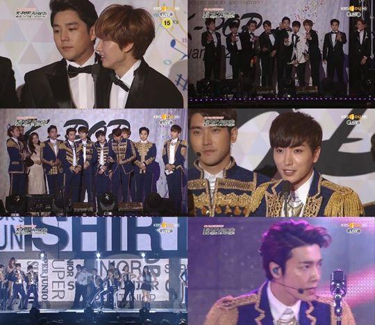 第四屆GAON CHART K-POP頒獎禮:Super Junior斬3獎成最大贏家