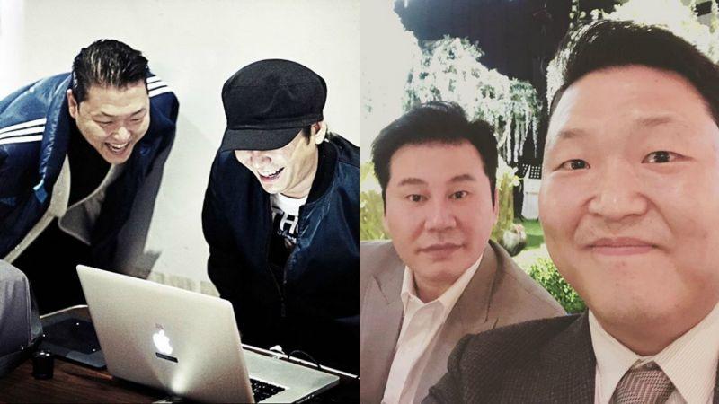 PSY與YG長達八年合約期滿,「深厚關係永遠不變」