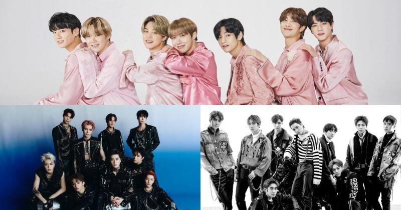 【男團品牌評價】BTS防彈少年團衛冕 師兄弟 NCT、EXO 攜手打入前三名