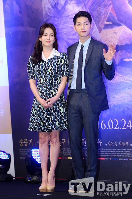 《太陽的後裔》4月香港開播 宋宋CP赴港宣傳