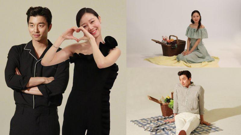 【圖多】孔劉&孔曉振摯友合拍畫報 從外貌到氣質都默契十足!