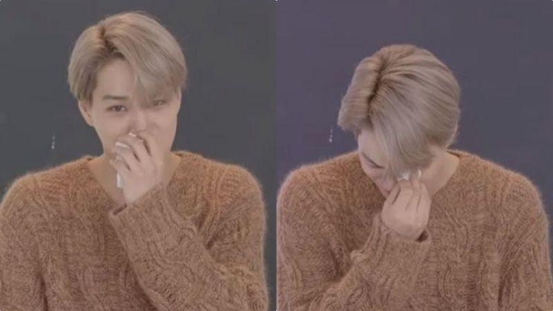 心疼又好笑~EXO Kai新專輯直播和粉絲互動,一邊讀信一邊大哭!
