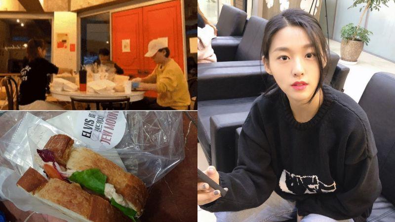 从凌晨4点...就开始准备给粉丝们逆应援的AOA雪炫家人们!网友:「是家人们亲自制作的,好真诚!」