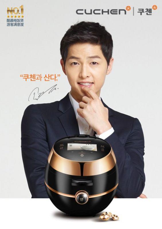 家電品牌啟用韓流明星宋仲基為最新代言人