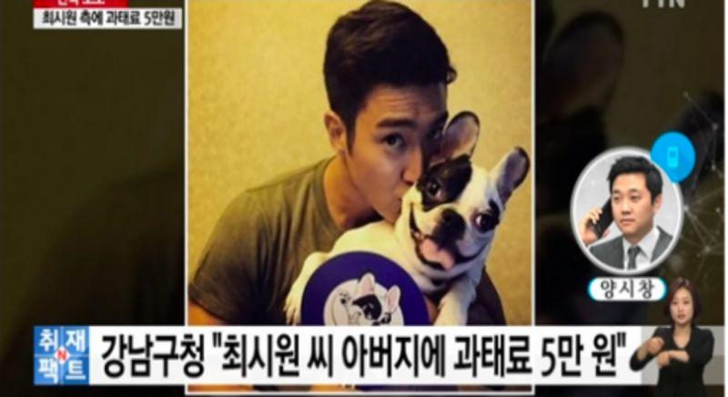 始源愛犬咬人風波新進展:崔父因未栓狗繩子被罰5萬韓幣