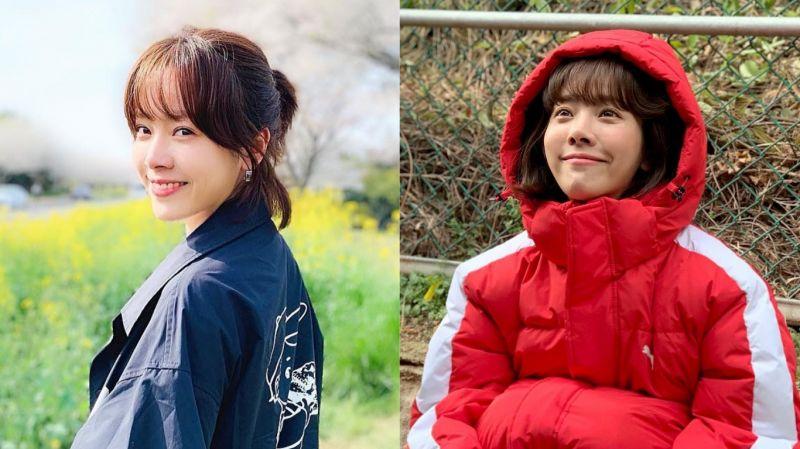 因為平時也擁有閃亮亮的雙眸…時常聽到別人問「妳怎麼哭了?」的韓志旼!