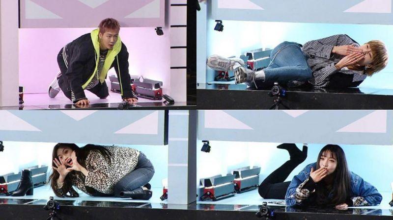 《Running Man》WINNER對上I.O.I重逢,cover舞蹈「超級比一比」精彩又刺激!