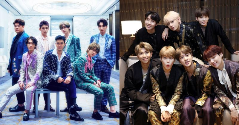 Super Junior、防彈少年團攜手入圍《全美民選獎》多個獎項 ELF 和 Army 快去為他們投票吧!