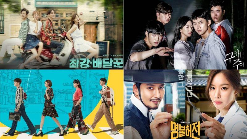 8月开播的剧中已经播出4部啦!在这当中你追了哪一部呢?