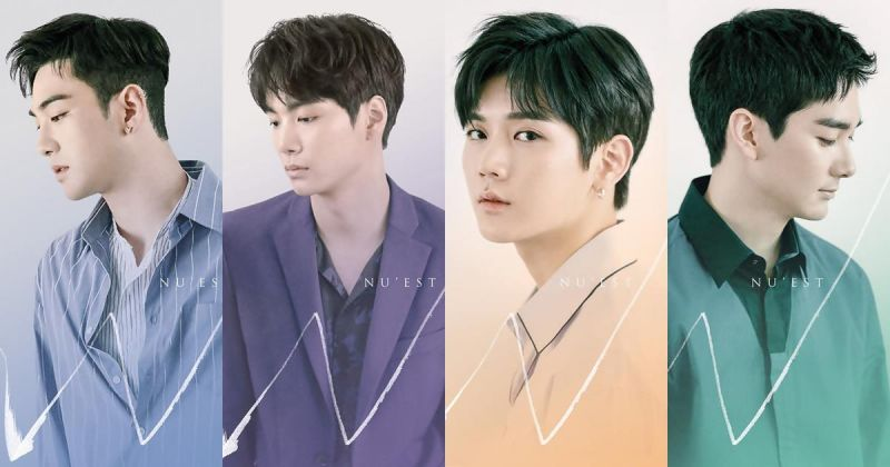 子團「NU'EST W」特別單曲《If You》先行曝光個人預告照 四人四色全公開~!