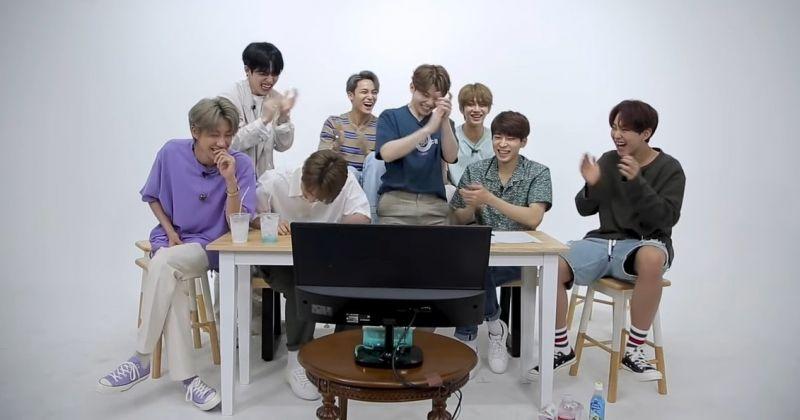 SEVENTEEN一张图暴露韩国人独特行为模式:「边笑边拍手」