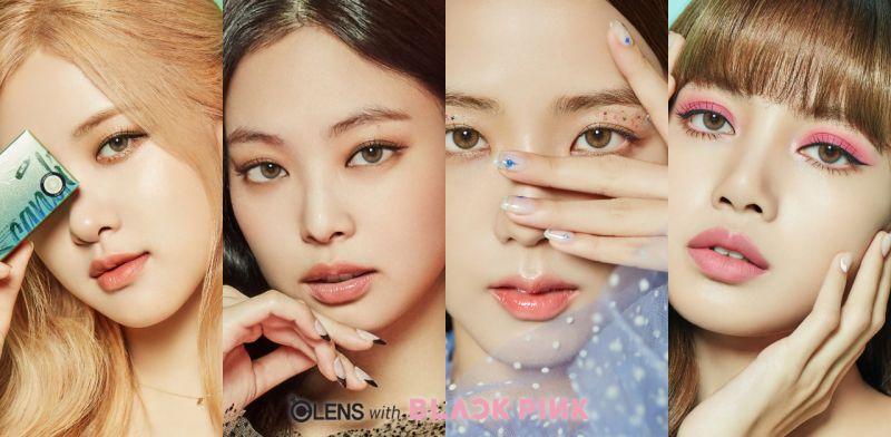 想擁有夏日感的外國人眼睛?來看BLACKPINK代言OLENS最新Color con系列的新顏色推出!
