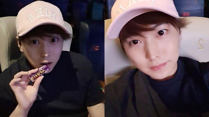 Super Junior晟敏被要求退队后首次曝近况:纪念瘦身5kg