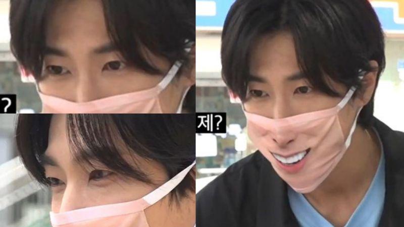 粉絲對東方神起允浩YouTube節目的意見:「只看眼睛明明很帥,但這口罩是怎麼回事?!XD」