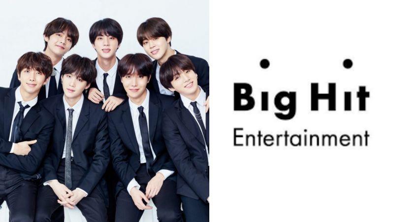 BTS防彈少年團所屬社BIG HIT公司將涉足烘焙餐飲行業?已完成商標註冊