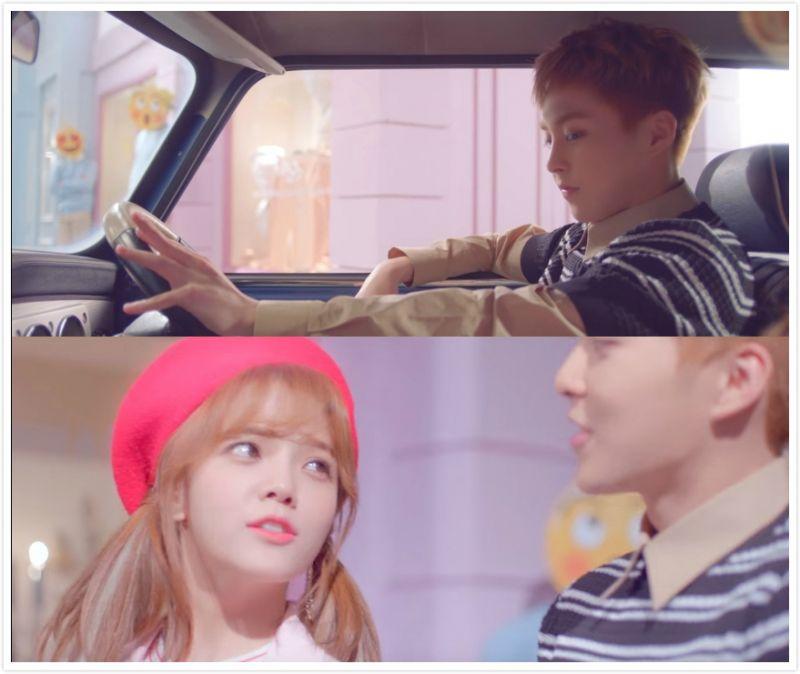 又一首甜蜜的男女合作曲――AOA智珉、EXO XIUMIN《Call You Bae》!