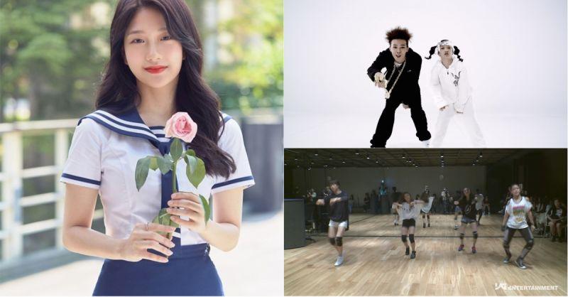 《偶像學校》曾在YG當過6年練習生的她!跟GD拍過MV外,之前的這個練習生影片也有她的身影!