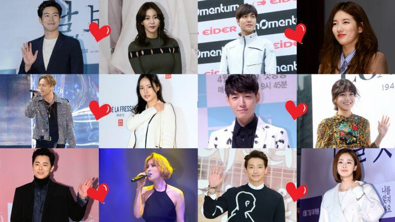 韓國演藝圈裡,演員♥歌手相戀的明星們!