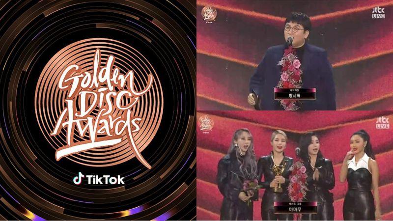 第34屆【金唱片獎】完整得獎名單!BTS防彈少年團獲音源大賞,MAMAMOO得最佳團體