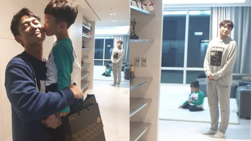 時安與珉豪BOBO照:「對大發來說,珉豪叔叔是愛♥」後面李同國的表情也吸引大家注意!