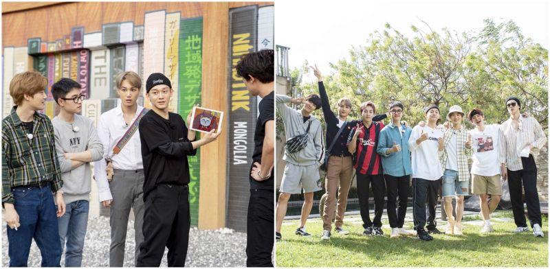 《EXO的爬梯子世界旅行2》创佳绩     KAI与SUHO将来台与700粉丝一同庆功
