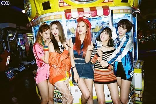 EXID 6月發行首張常規專輯 封面照色彩豔麗