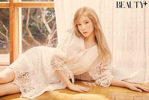 少女时代太妍最新画报公开 散发清纯魅力的秋日女神