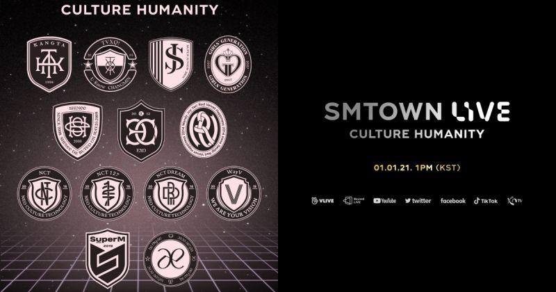 從安七炫、東方神起、SJ、太妍到 Red Velvet 和 aespa⋯⋯SM 免費線上演唱會元旦登場!