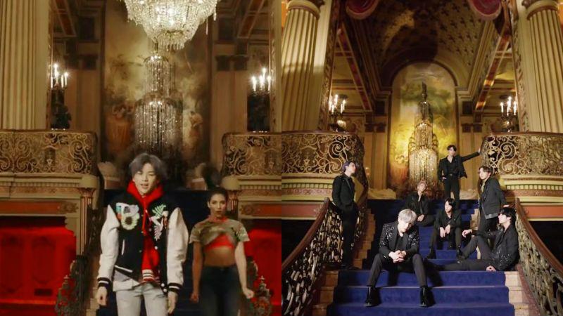 防弹少年团、姜丹尼尔的新歌MV拍摄地在同一个地方LA剧院 !