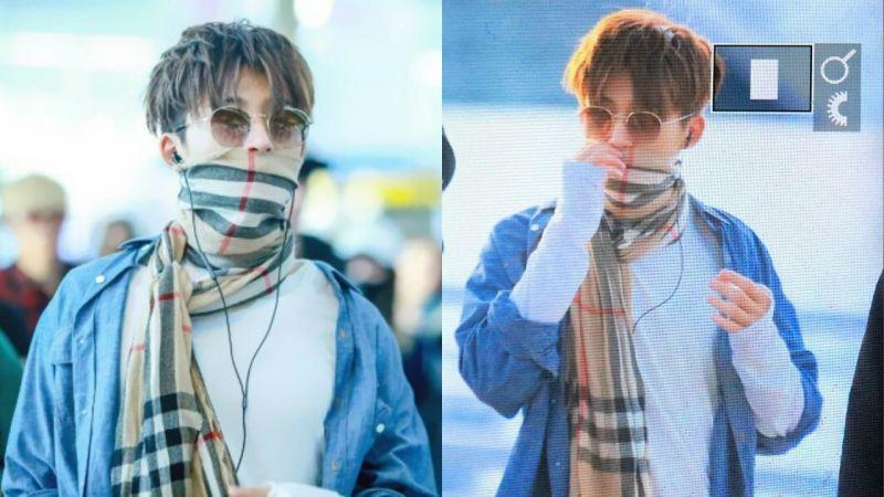 iKON B.I在機場「流鼻血」?還要是左邊流完,右邊流~XD