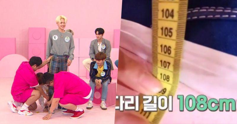 身高185cm腿長居然有108cm! 《Idol Room》X1姜敏熙自爆曾志願當模特
