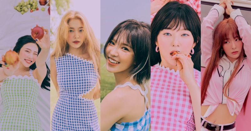 Red Velvet 五人概念照到齊!滿滿的夏日少女感