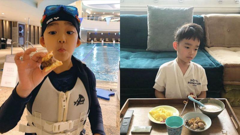 長太快了吧!「迷你版EXO CHEN」6歲多乙:歐巴感覺愈來愈濃囉♥